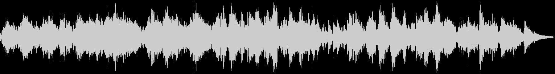 癒されるローズピアノサウンドの未再生の波形