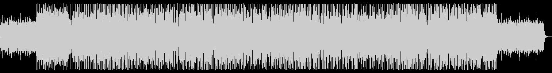 アジアンな広がりのあるシンセサイザーの曲の未再生の波形