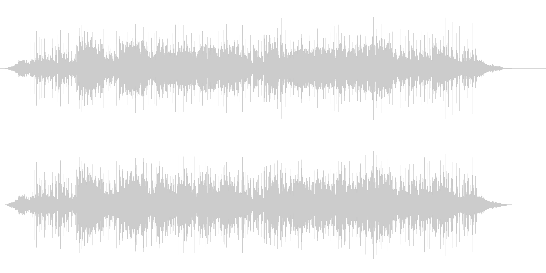 ネオ・ワールド・ミュージック(インド風)の未再生の波形