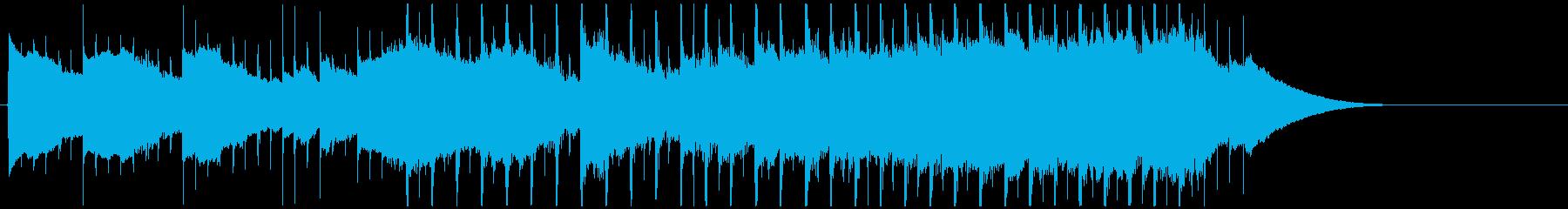 企業VPジングル ギター透明感プレゼン用の再生済みの波形