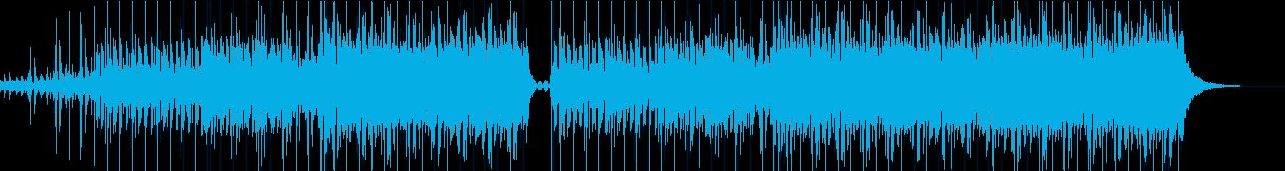 Pop Musicの再生済みの波形
