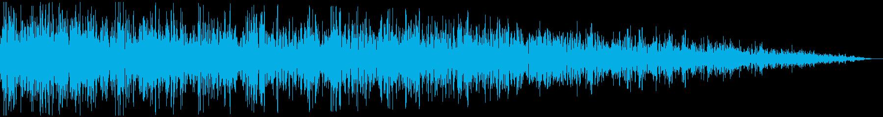 ガーン (ショック、衝撃を受ける) 短めの再生済みの波形