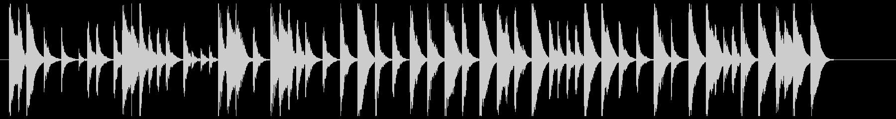 童話のような木琴のワルツの未再生の波形