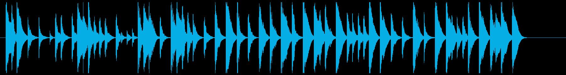 童話のような木琴のワルツの再生済みの波形
