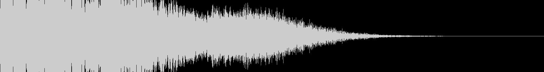 パチンコ 成功時 チャンスアップ系電子音の未再生の波形