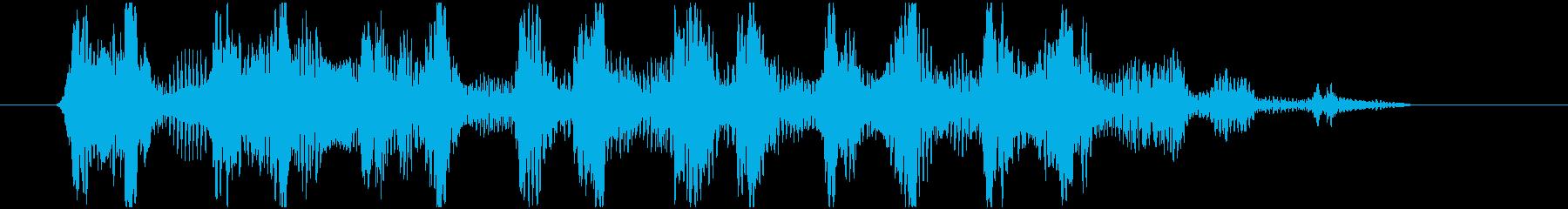 ワゥワゥワゥ 効果音シンセ HIGHの再生済みの波形