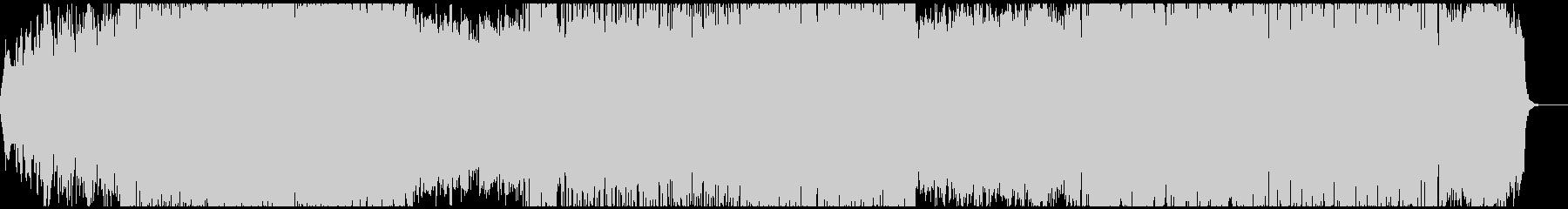 バトルシーン向けのシンフォニックメタルの未再生の波形
