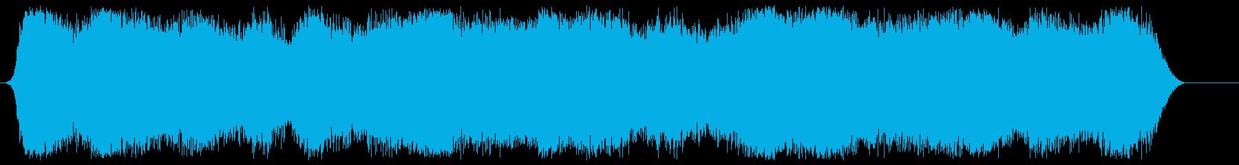 ナイトビーチの再生済みの波形