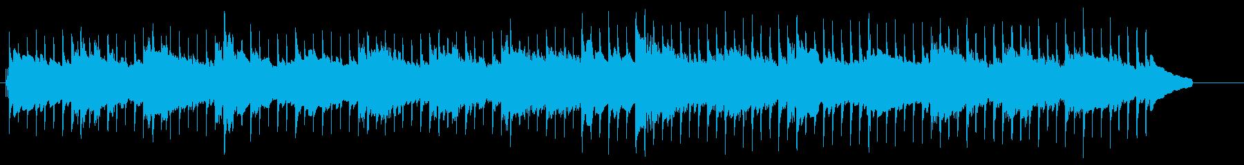 エレピと木琴の柔らかなミニマルポップの再生済みの波形