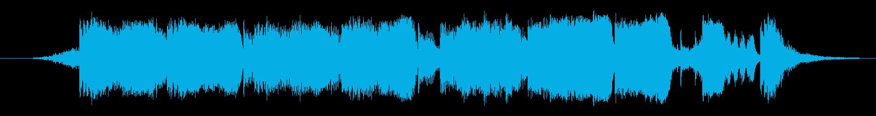 元気でキャッチーなファンファーレ2の再生済みの波形