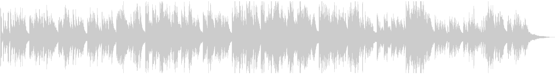 メロディック 明るくポップな ピアノソロの未再生の波形