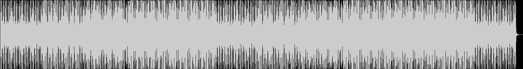 かわいい爽やか明るい疾走感テクノポップの未再生の波形