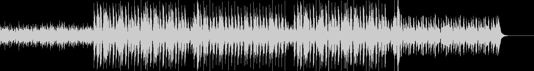 アンビエントとヒップホップの融合の未再生の波形