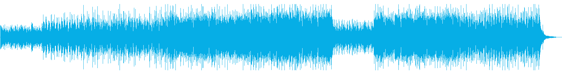 爽やかポップオーケストラの再生済みの波形