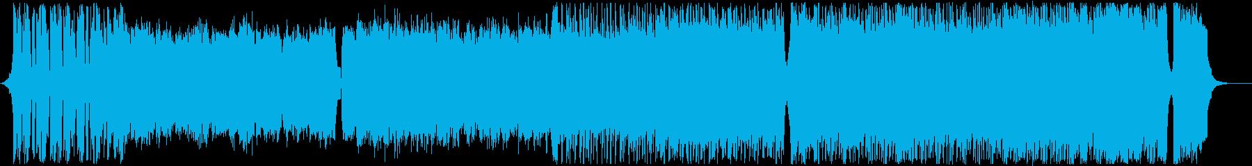 壮大な地球-感動-オーケストラの再生済みの波形