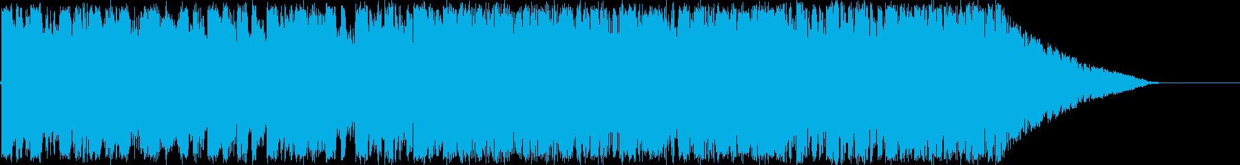 明るく楽しいイメージのBGMです。の再生済みの波形