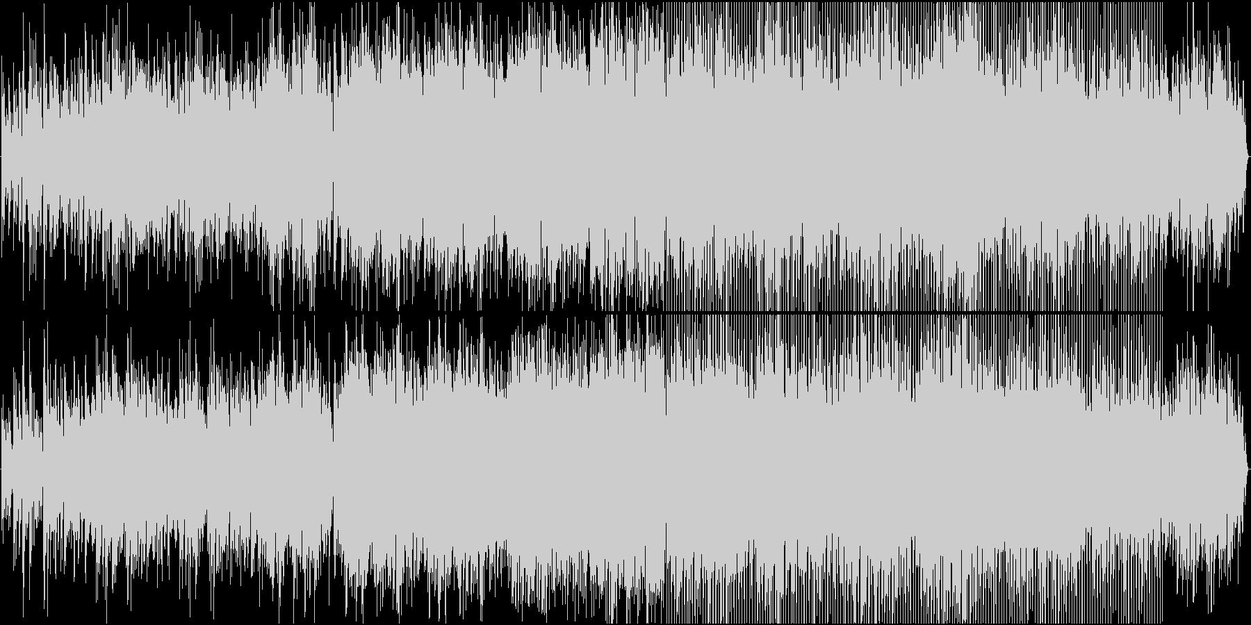 トロンボーンのカフェ風ボッサの未再生の波形