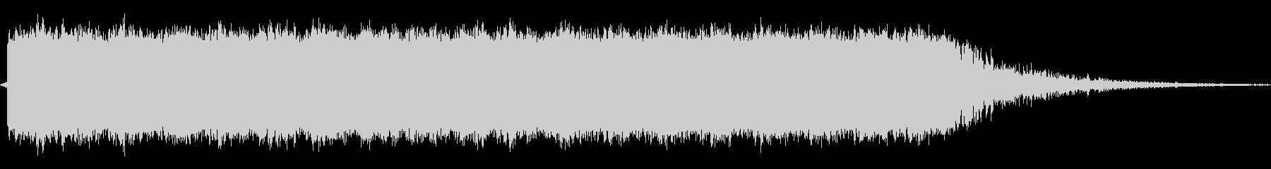サブマシンガンの未再生の波形