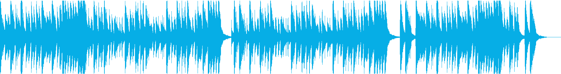 10秒でサビ、コミカル/カラオケの再生済みの波形