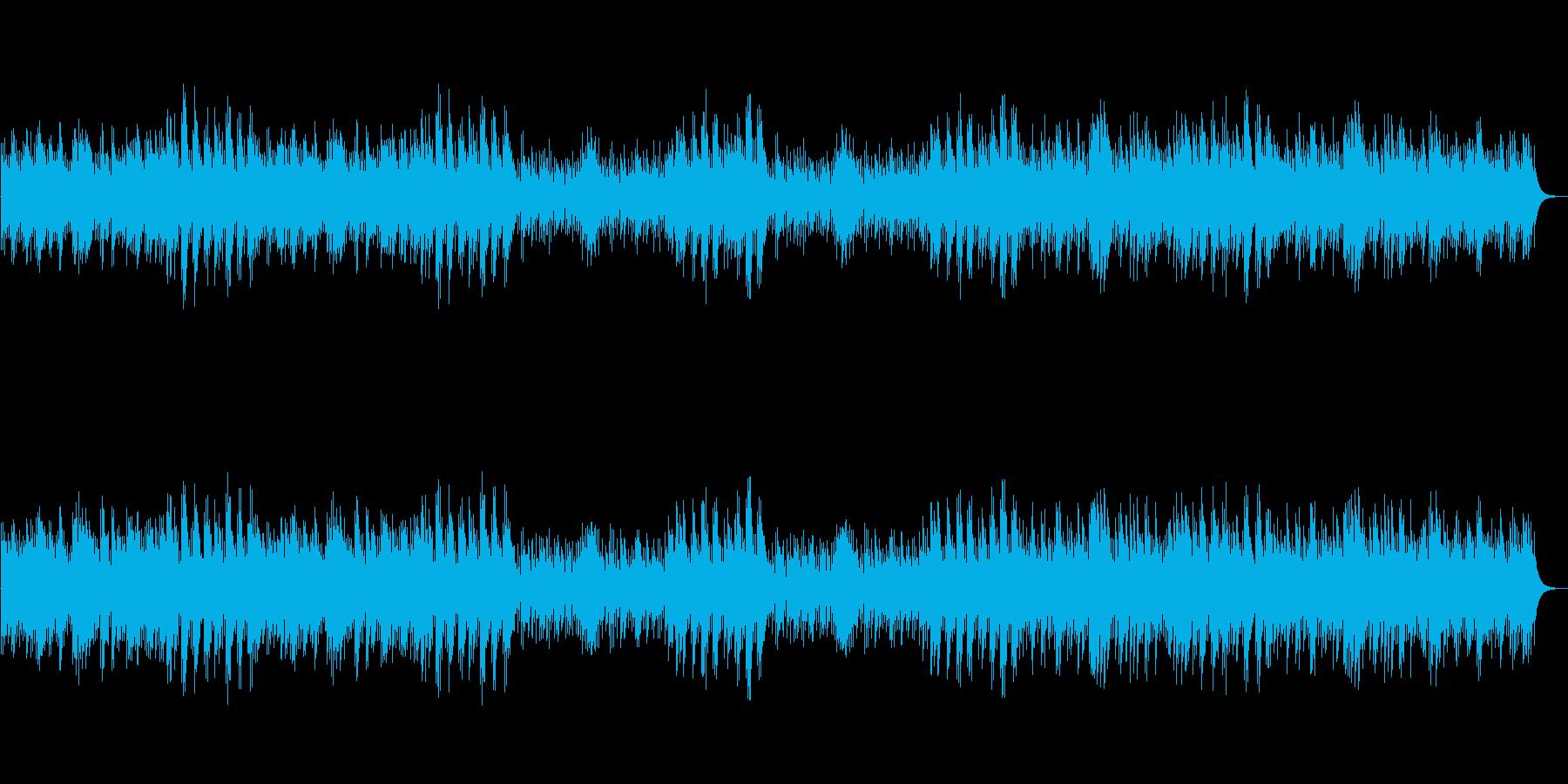 仄暗く切ない系オルゴール(短調)の再生済みの波形