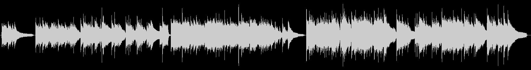 物語性のある場面を【ピアノ】で演出の未再生の波形