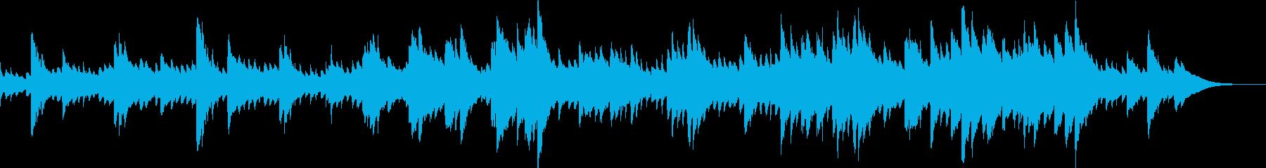懐かしさ漂うオルゴールの再生済みの波形
