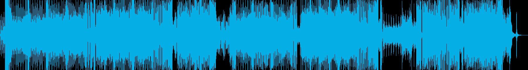 ★真夏★の弾けるテクノ(*≧∀)oの再生済みの波形