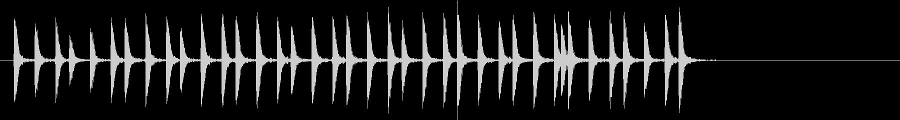 トットットタットットの未再生の波形