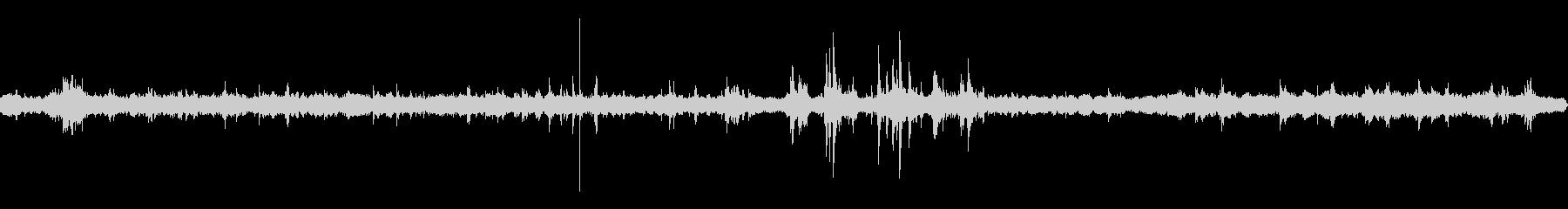 解体工事(少し遠め) 重機の音などの未再生の波形