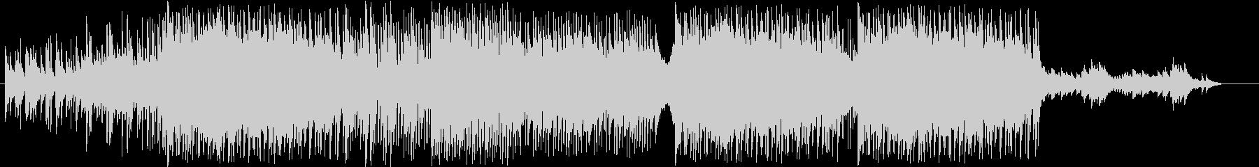 定番の結婚式SONG ベルのメロディーの未再生の波形