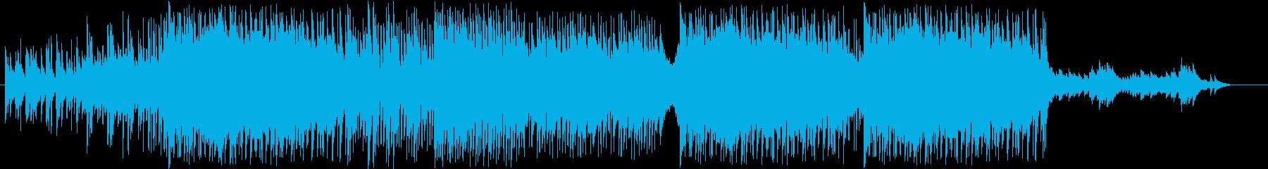定番の結婚式SONG ベルのメロディーの再生済みの波形