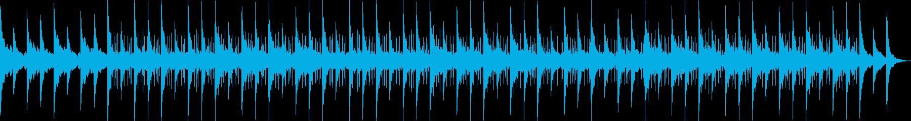 チルアウト・切ないローファイヒップホップの再生済みの波形
