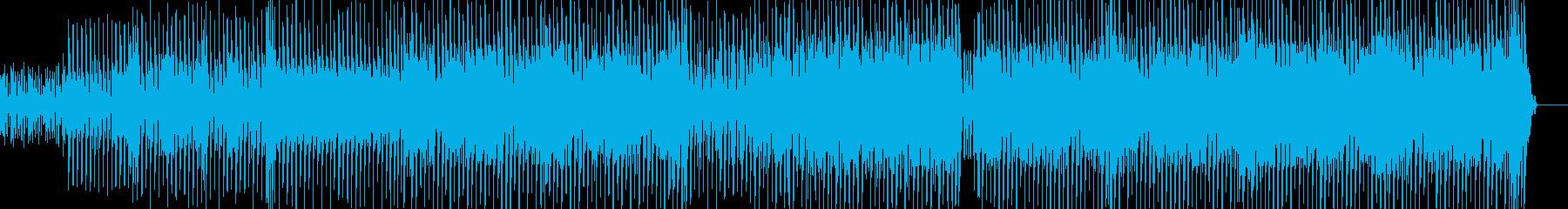 都会的なテクノ エレキギター有・短尺の再生済みの波形