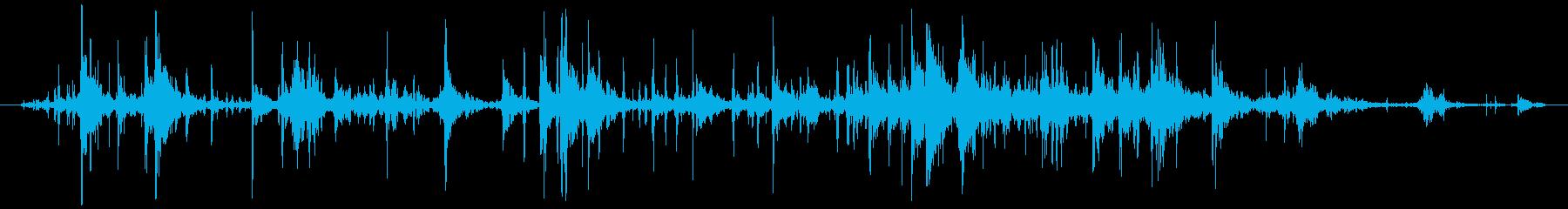 木 ブレイクラージ06の再生済みの波形