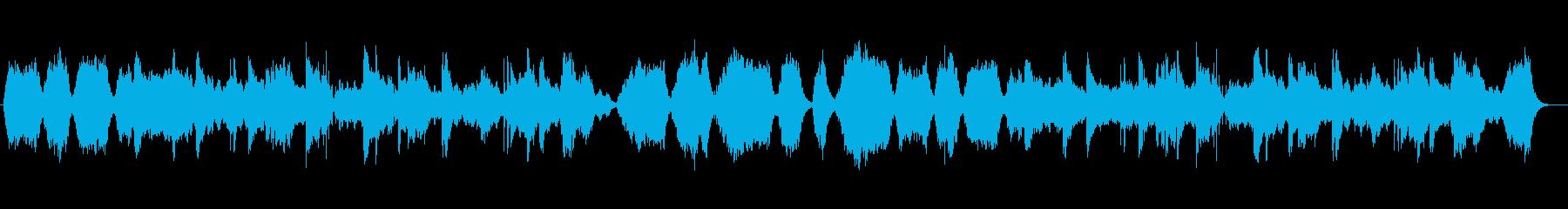 幻想的で和風なヒーリングミュージックの再生済みの波形
