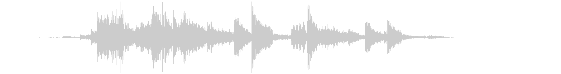 キーホルダー 金属音(チャリッ) の未再生の波形