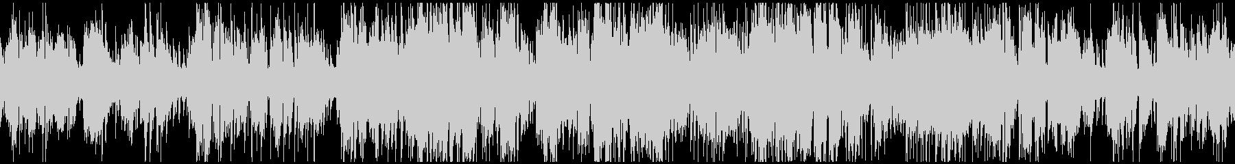 オルガンとサックスのジャズ ※ループ版の未再生の波形