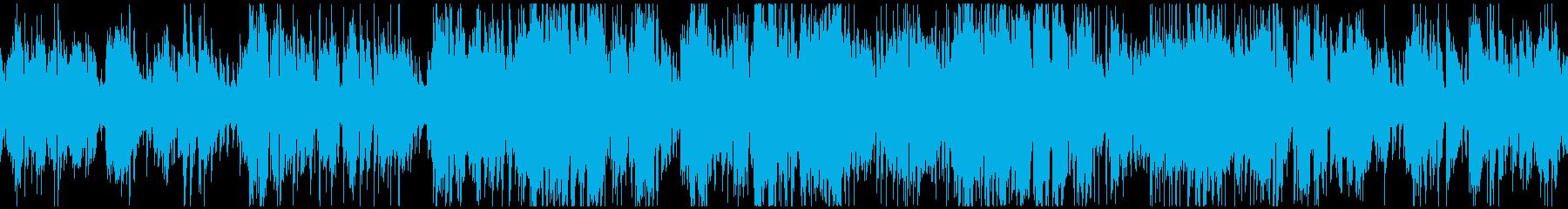 オルガンとサックスのジャズ ※ループ版の再生済みの波形