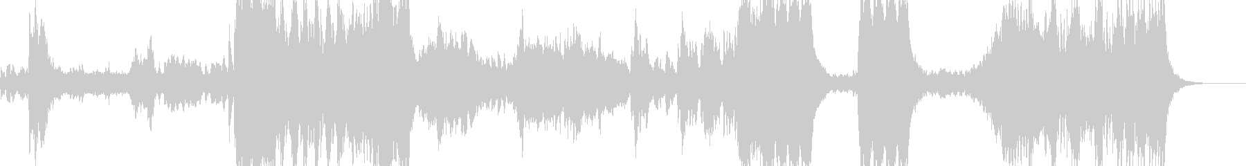 交響曲第4番第4楽章/ベートーベンの未再生の波形