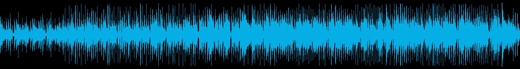 ループ済アコギが可愛いSurfmusicの再生済みの波形