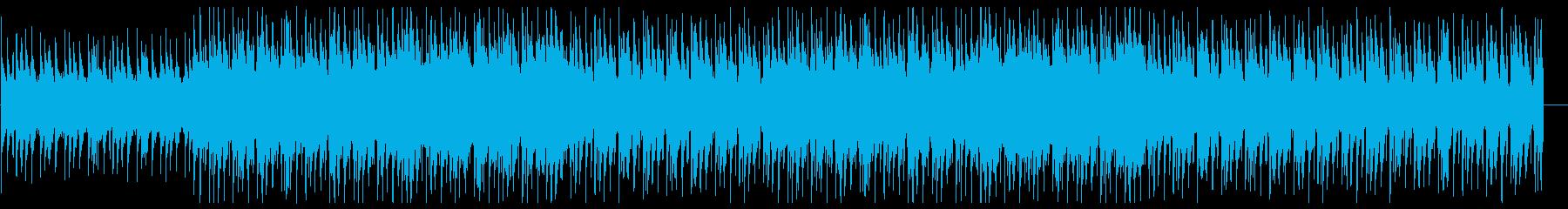 不思議な夜のLoFi HipHopの再生済みの波形