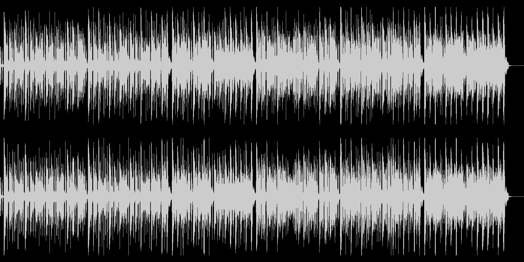 かわいい系・小人のワルツ・アコーディオンの未再生の波形