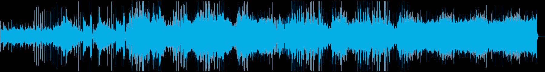青空・爽やか・ポップ・風の再生済みの波形