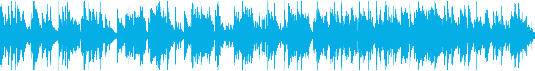 テナーサックス生演奏のバラード※ループ版の再生済みの波形