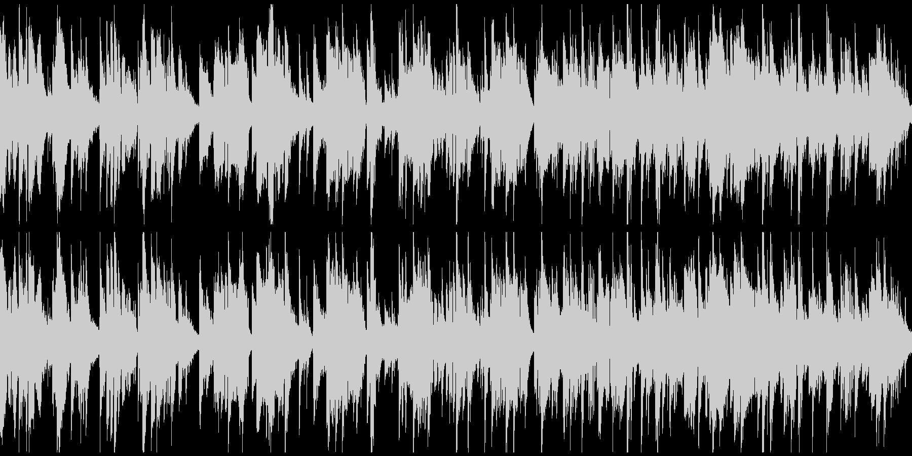 テナーサックス生演奏のバラード※ループ版の未再生の波形