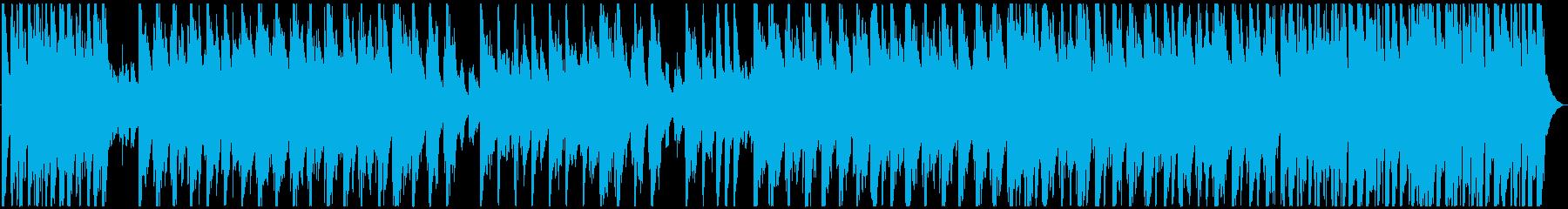 CMのようなコミカルでおしゃれなジャズの再生済みの波形