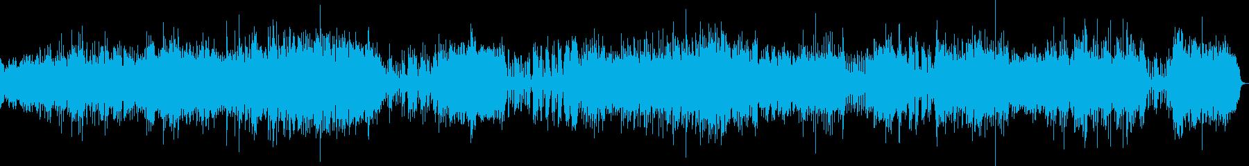 ピアノ2台の豪華な曲・2楽章(バッハ)の再生済みの波形