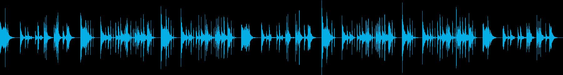 琴の爪弾くメロディがヨガ瞑想効果を高めるの再生済みの波形