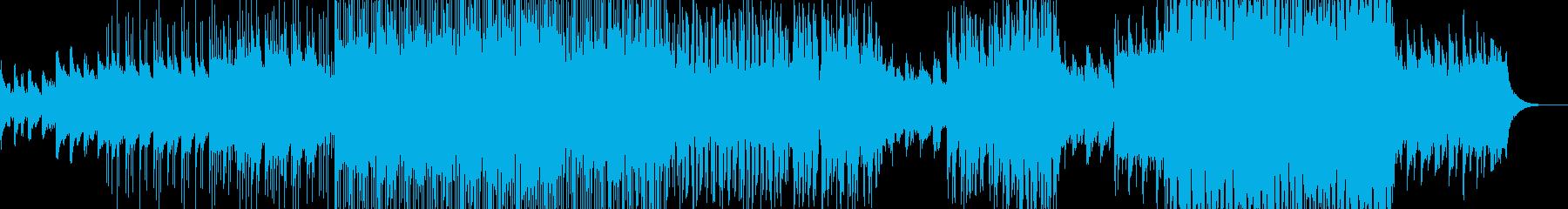 幻想的な夜明けをイメージ・ポップスの再生済みの波形