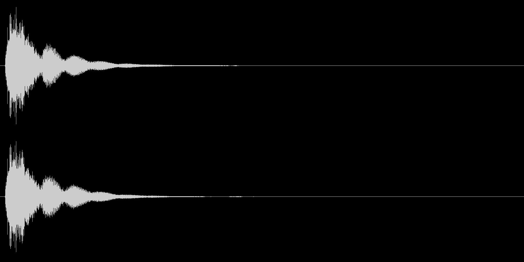 連鎖/パズルゲーム/コンボ/3段階目の未再生の波形